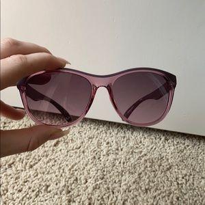 Purple Calvin Klein Sunglasses
